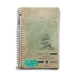 Cover of Sketchbook 01.