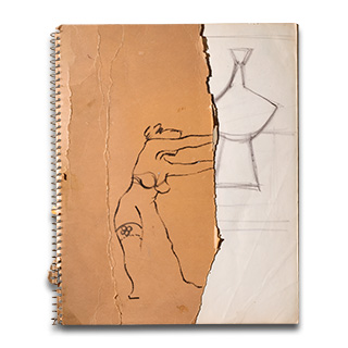 Cover of Sketchbook 06.
